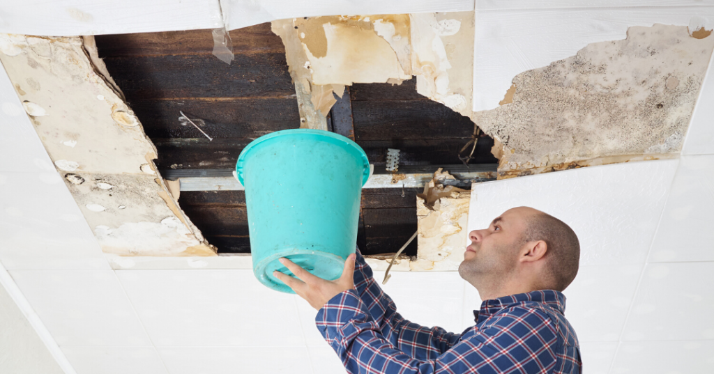 How to spot a leaky roof