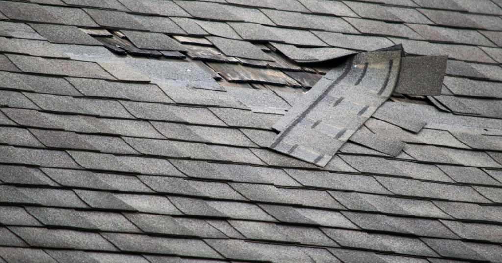 Roof in need of replacement