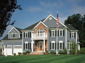 Luxury Westchester County, NY home with new siding installation