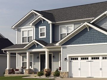 Westchester County, NY home with new Certainteed siding