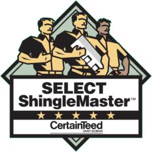 MCAS Roofing & Contracting, Inc. is a certified Certainteed SELECT ShingleMaster residential contractor