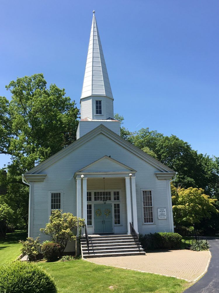 Commercial roof replacement in Tarrytown, NY on a white church