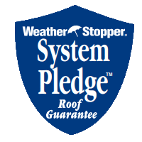MCAS Roofing & Contracting, Inc. offers the Weather Stopper System Pledge Roof Guarantee
