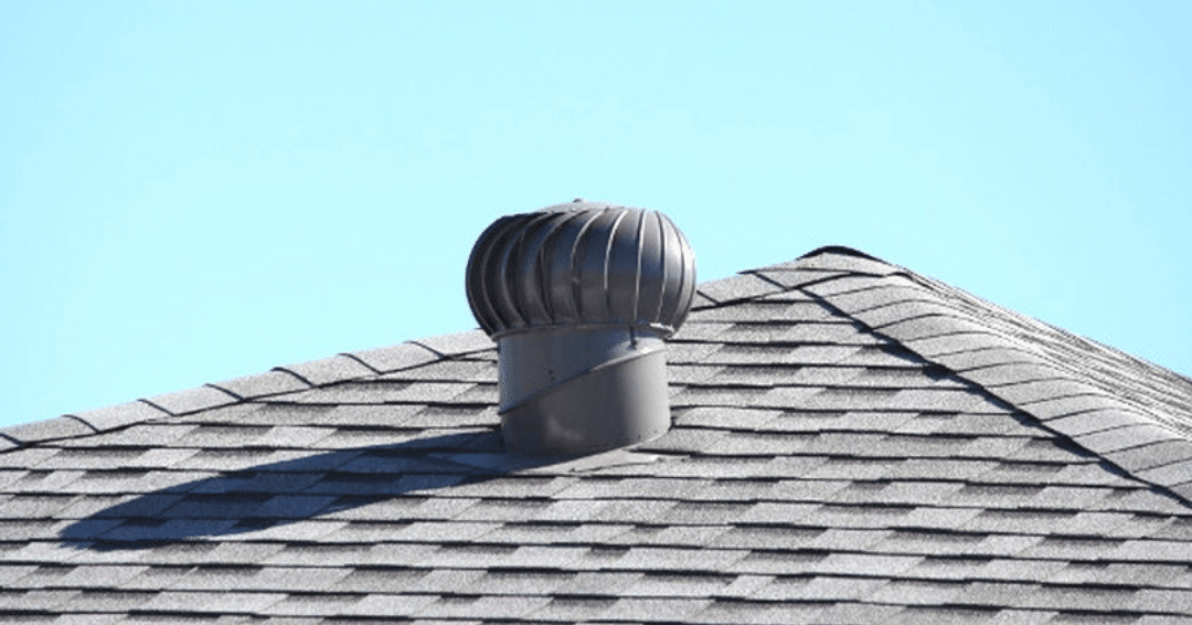 Power vent on a Westchester County, NY roof