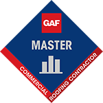 MCAS Roofing & Contracting, Inc. is a certified GAF Master Commercial Roofing Contractor