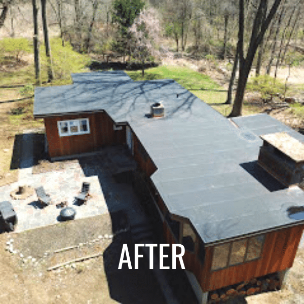 Flat roof replacement in Westchester County, NY